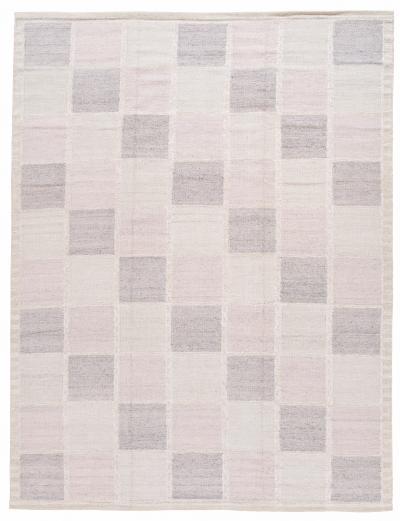 21st Century Modern Swedish Style Beige Wool Rug