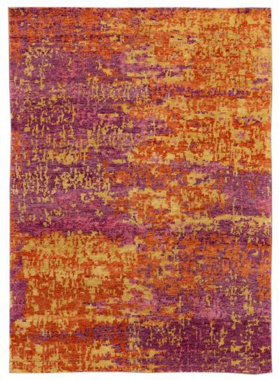 21st Century Modern Wool Rug 5 x 7