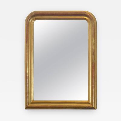 24 Karat Gold Leafed Louis Philippe Mirror