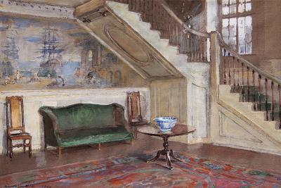 Walter Gay Entrance Hall Moffatt Ladd House 1923