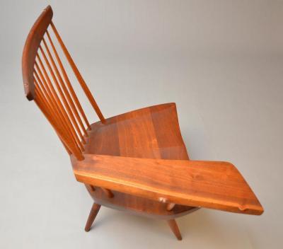 George Nakashima New Lounge Chair with Writing Arm