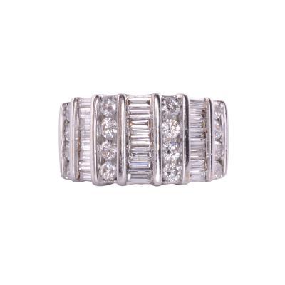 3 0 CTW Wide Diamond Ring