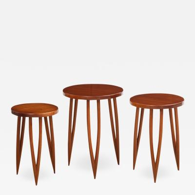 3 X 3 Contemporary Nesting Tables