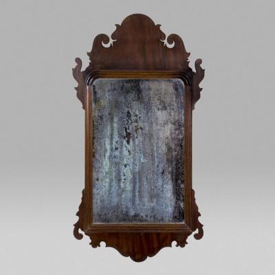 Mahogany Queen Anne Mirror c 1760