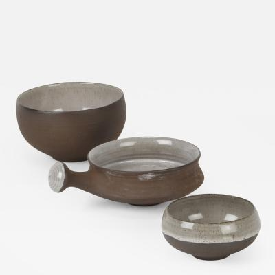 3x Ditlev Bowls Denmark 70 s
