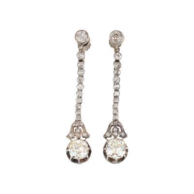 4 16 CTW Diamond Screw Clip Earrings