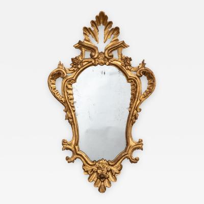 4 Tuscan gilt wood mirrors