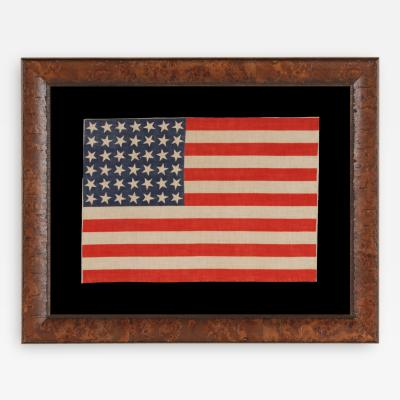 42 Stars Washington Statehood Antique American Flag