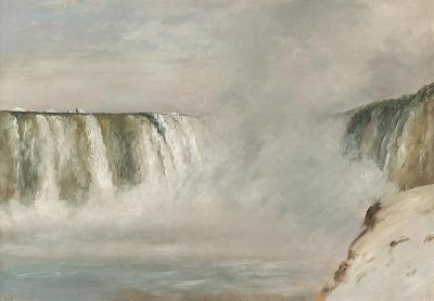 Lockwood De Forest Niagra Falls 1877