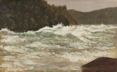 Lockwood De Forest Niagra Falls Rapids
