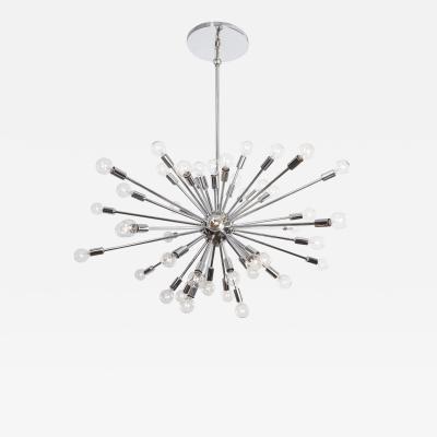 48 Light Polished Chrome Sputnik produced by Globe Industries