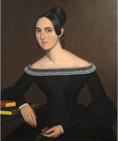 Ammi Phillips A Portrait of Jeanette Payne c 1841