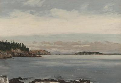 Lockwood De Forest Off the Maine Shore