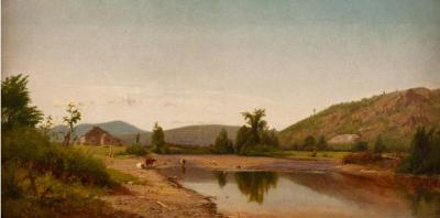 William M Hart Landscape 1859