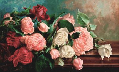 Virginia Granbery Still life of Roses