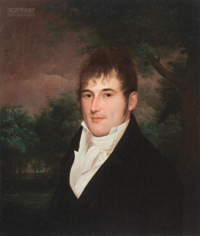 James Peale Portrait of Anthony Groves