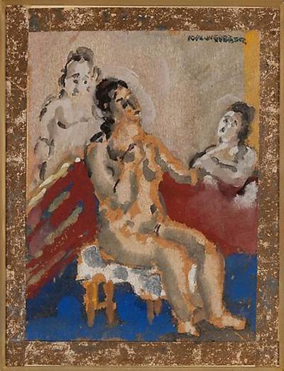 Max Weber Three Women c 1916