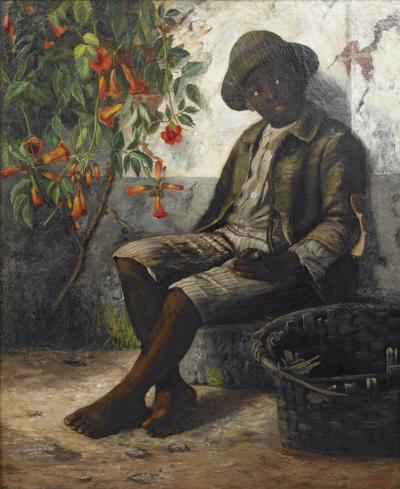 William Verplanck Birney Portrait of a Young Black Boy