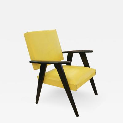 A 1950S FRENCH ARMCHAIR