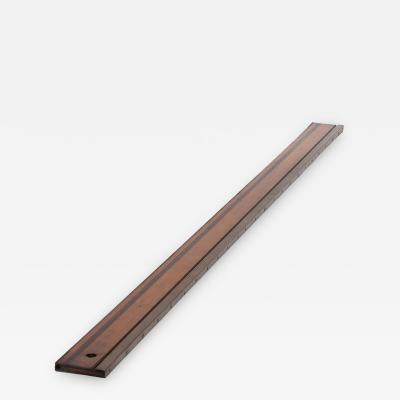 A 19th Century Wooden Ruler