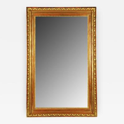 A Biedermeier Gilt Mirror