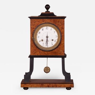 A Biedermeier Mantel Clock Austrian ca 1815