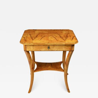 A Biedermeier Occasional Table