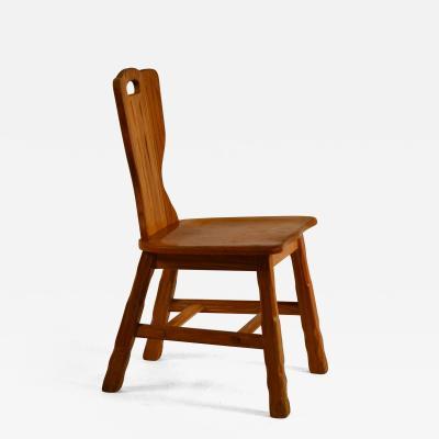 A Brandt Ranch Oak Furniture Ranch Oak Side Chair by A Brandt Co