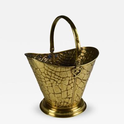 A Brass Arts and Crafts Bucket