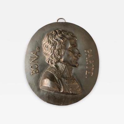 A Bronze Plaque Napoleon Bonaparte