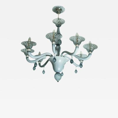 A CLASSIC VENETIAN EIGHT ARMS CHANDELIER