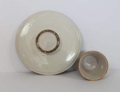 A Castelli Trembleuse Beaker and Saucer