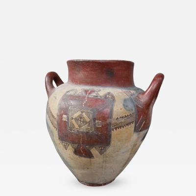 A Ceramic Vase Italy XIXth Century