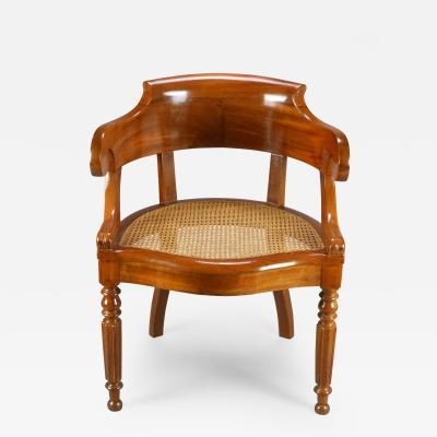 A Charles X Period Mahogany Armchair