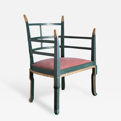 A Chinoiserie Lounge Chair