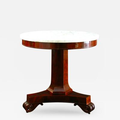 A Classical Center Table