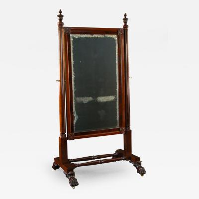A Classical Cheval Mirror