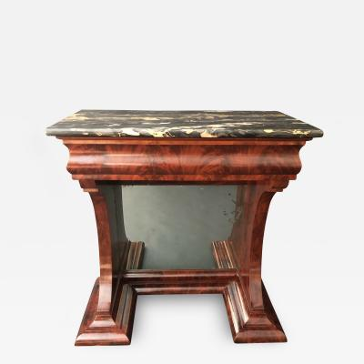 A Classical Pier Table