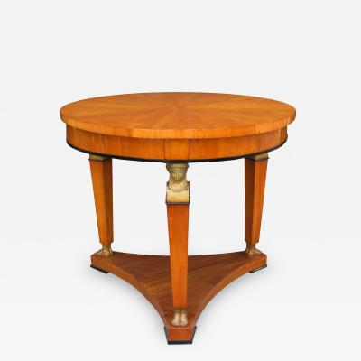 A Fine Biedermeier Center Table