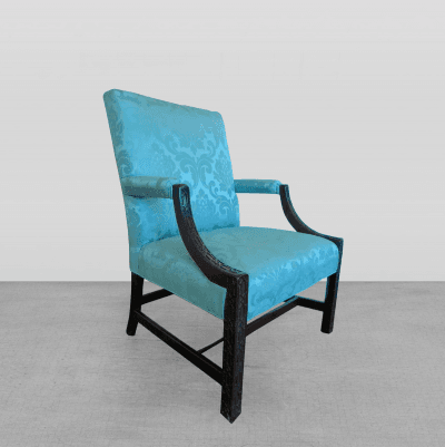 A Fine Chinese Chippendale Library Armchair