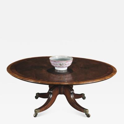 A Fine George IV Rosewood Dining Table