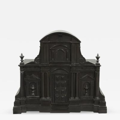 A Fine Grand Tour Table Cabinet of Architectural Form