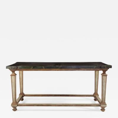 A Fine Italian 17th Century Painted Center Table