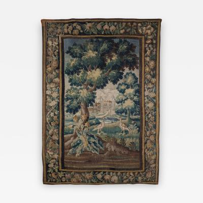 A Fine Louis XIV Verdure Tapestry Aubousson