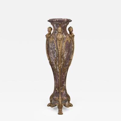 A Fine Louis XVI Style Marble Pedestal