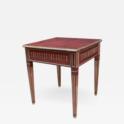 A Fine Neoclassical End Table