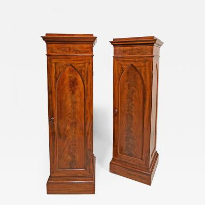 A Fine Pair of 19th Century Mahogany Pedestals