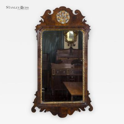 A Fine Queen Anne Walnut Mirror England c 1720
