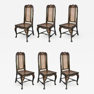 A Fine Set of Six 18th Century Chairs