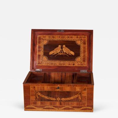 A Fine Spanish Colonial Neoclassical Casket Coffer Nueva Granada ca 1800